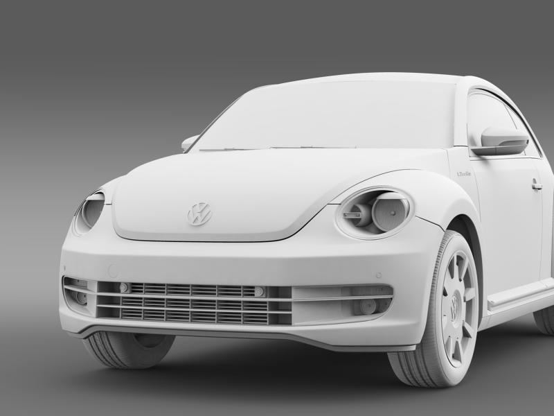 vw i beetle 2015 3d model 3ds max fbx c4d lwo ma mb hrc xsi obj 153290