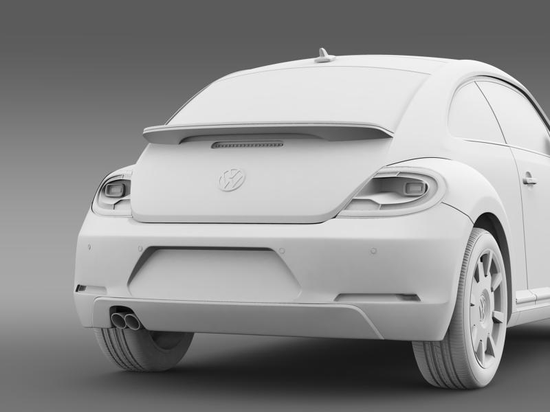 vw i beetle 2015 3d model 3ds max fbx c4d lwo ma mb hrc xsi obj 153291