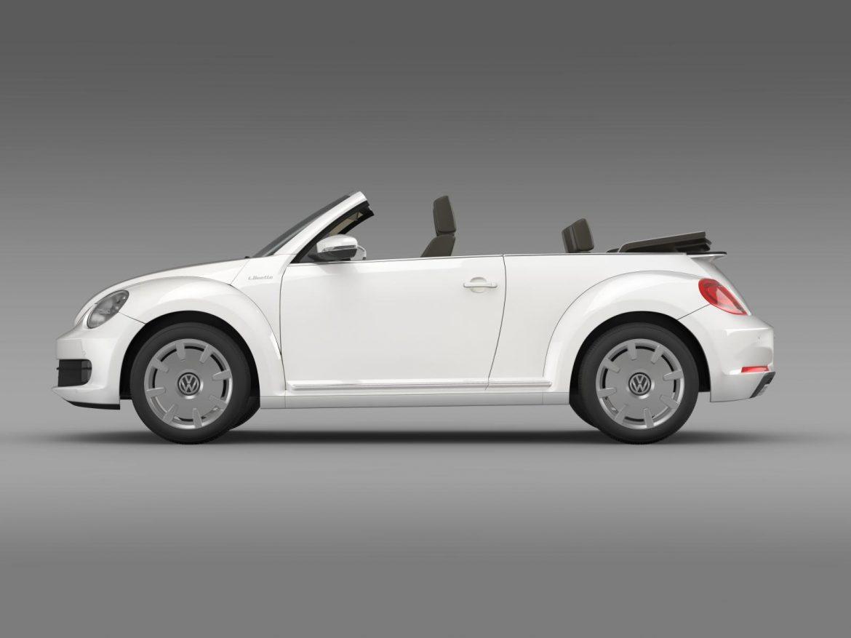 vw i beetle cabrio 2015 3d model 3ds max fbx c4d lwo ma mb hrc xsi obj 152760