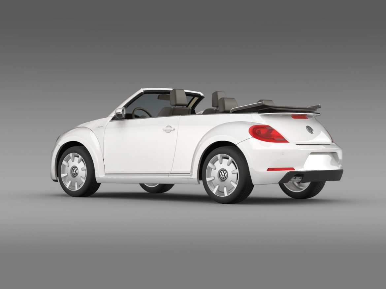 vw i beetle cabrio 2015 3d model 3ds max fbx c4d lwo ma mb hrc xsi obj 152761