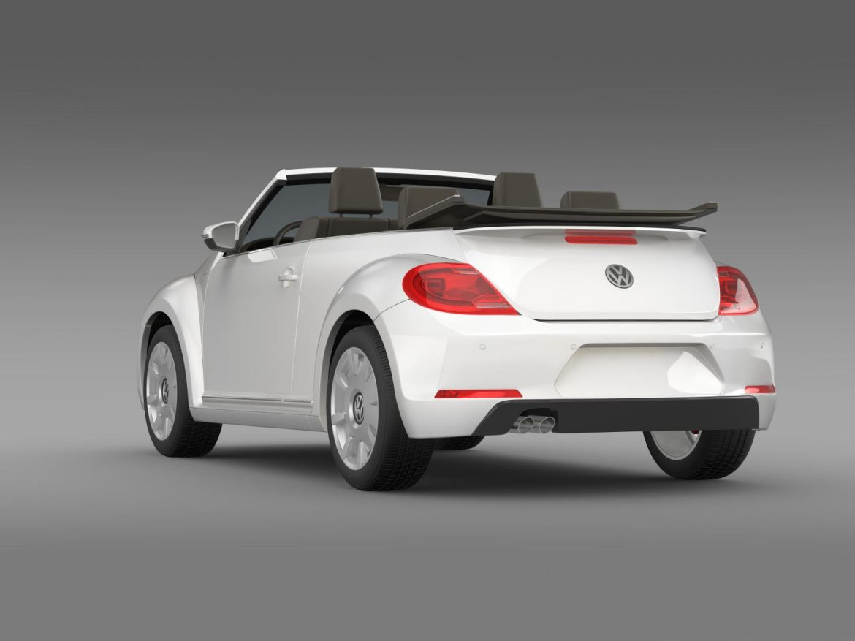 vw i beetle cabrio 2015 3d model 3ds max fbx c4d lwo ma mb hrc xsi obj 152762