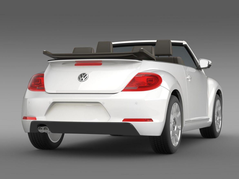 vw i beetle cabrio 2015 3d model 3ds max fbx c4d lwo ma mb hrc xsi obj 152763