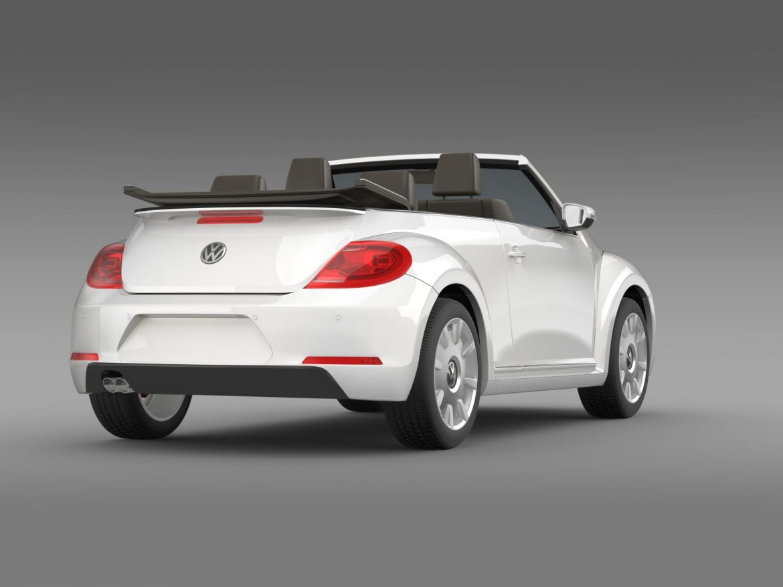 vw i beetle cabrio 2015 3d model 3ds max fbx c4d lwo ma mb hrc xsi obj 152764