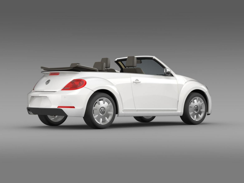 vw i beetle cabrio 2015 3d model 3ds max fbx c4d lwo ma mb hrc xsi obj 152765