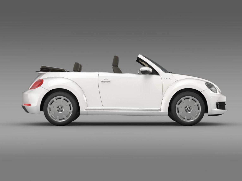 vw i beetle cabrio 2015 3d model 3ds max fbx c4d lwo ma mb hrc xsi obj 152766