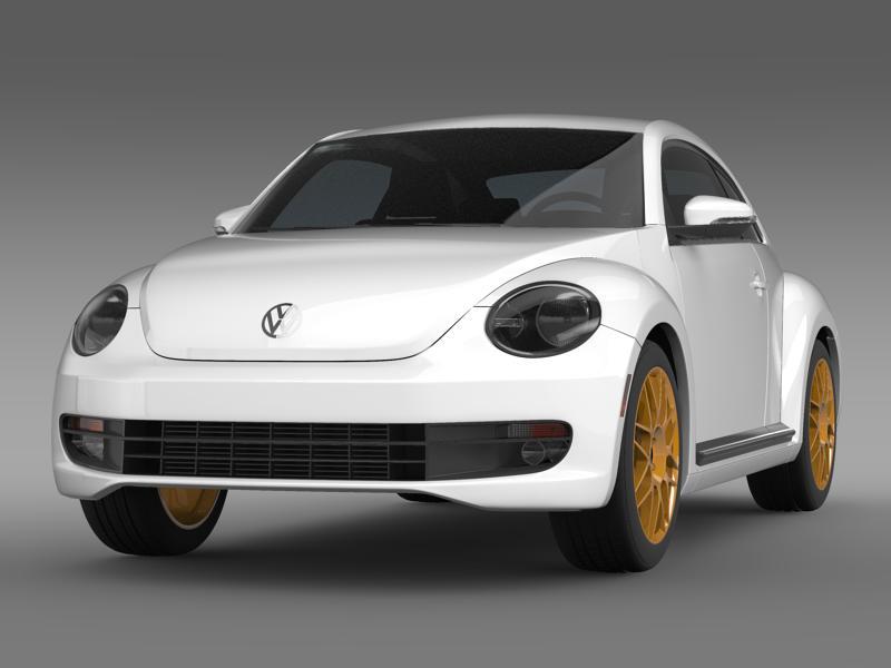 vw beetle rs 2012 3d model flatpyramid. Black Bedroom Furniture Sets. Home Design Ideas