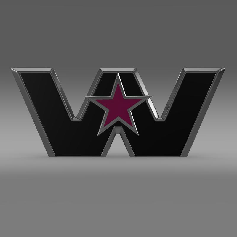 Zapadna zvijezda logo 3d model 3ds max fbx c4d lwo ma mb hrc xsi obj 134225