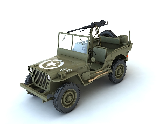 willys mb v2 3d model max 135074