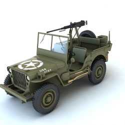 Willys MB ( 106.05KB jpg by S.E )
