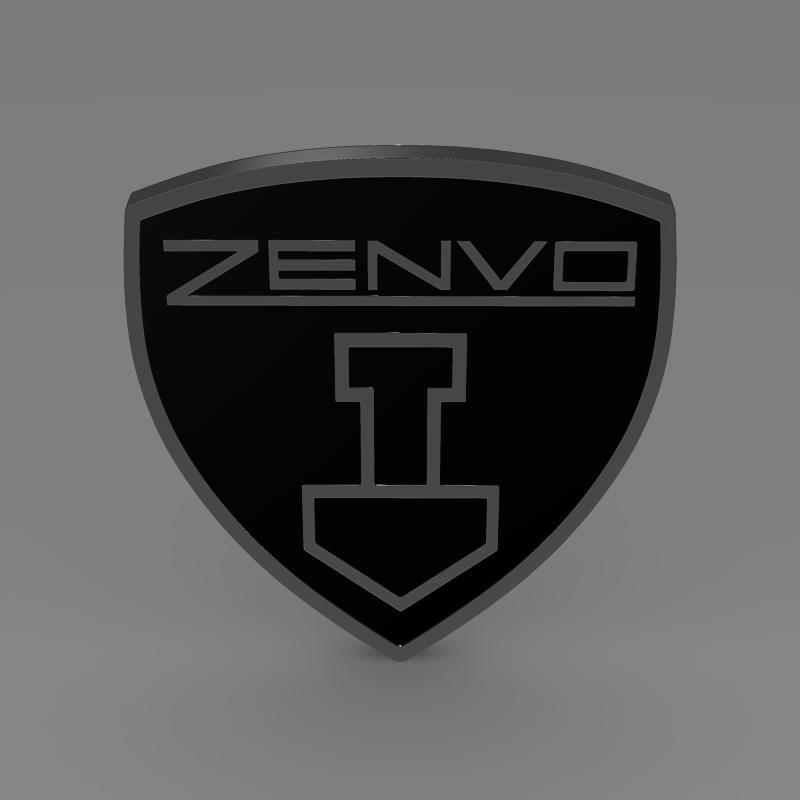 zenvo logo 3d modelis 3ds max fbx c4d lwo ma mb hrc xsi obj 153013