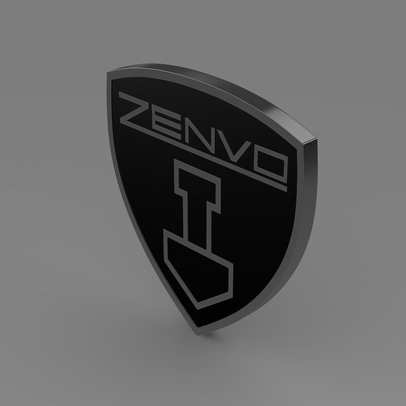 zenvo logo 3d modelis 3ds max fbx c4d lwo ma mb hrc xsi obj 153014