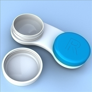 contact case and cleaner 3d model 3ds max fbx lwo hrc xsi obj 98873