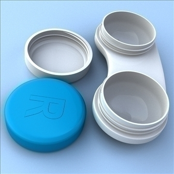 contact case and cleaner 3d model 3ds max fbx lwo hrc xsi obj 98880