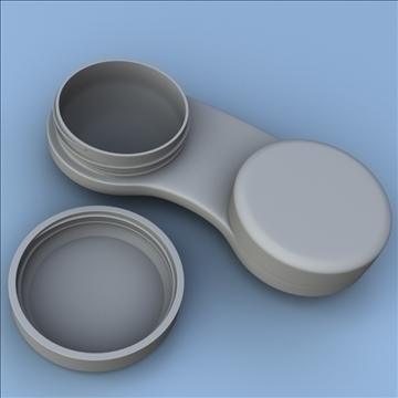 contact case and cleaner 3d model 3ds max fbx lwo hrc xsi obj 98882