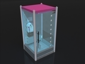 callbox 3d model 3ds max obj 107750