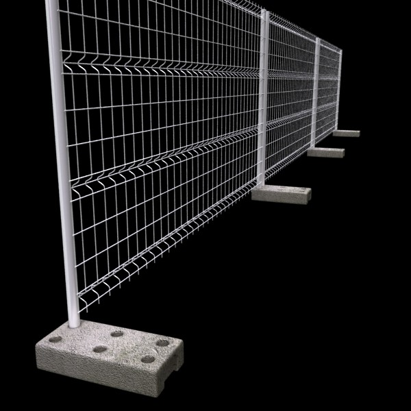 fence 02 – high detailed 3d model max fbx obj 131482