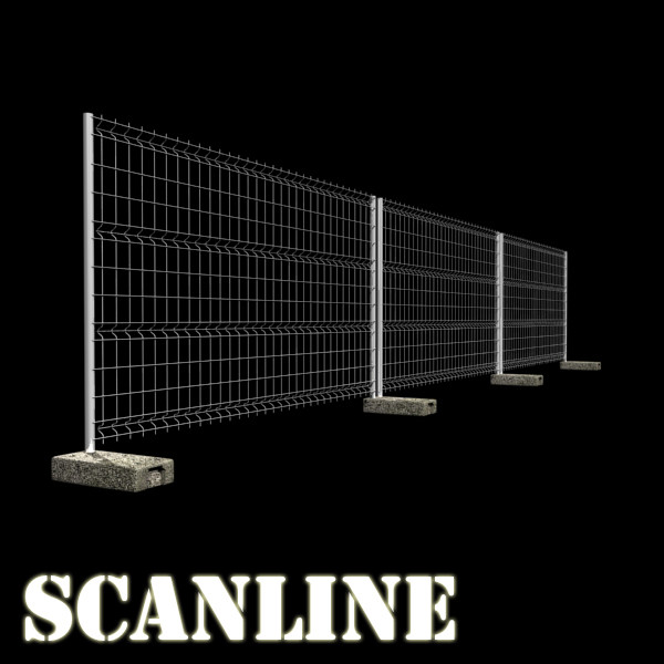 fence 02 – high detailed 3d model max fbx obj 131489