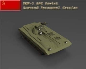 bmp 1 apc 3d model 3ds max x lwo ma mb obj 101249