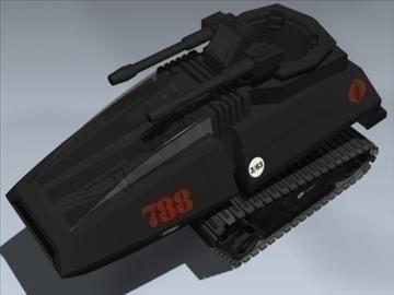 cobra h.i.s.s. 3d model 3ds max lwo ma mb obj 98900