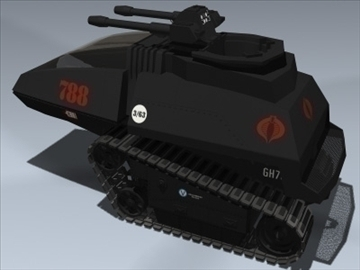 cobra h.i.s.s. 3d model 3ds max lwo ma mb obj 98901