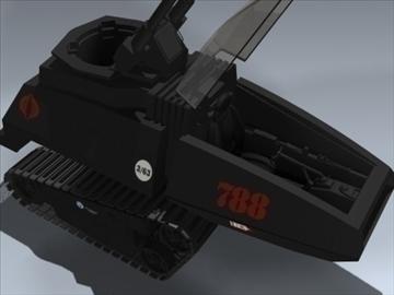 cobra h.i.s.s. 3d model 3ds max lwo ma mb obj 98902