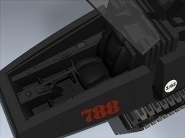 cobra h.i.s.s. 3d model 3ds max lwo ma mb obj 98903