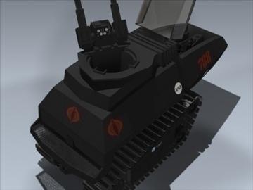 cobra h.i.s.s. 3d model 3ds max lwo ma mb obj 98904