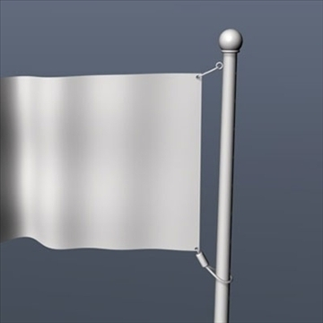 old glory united states flag 3d model 3ds dxf fbx c4d obj 82701