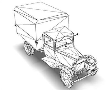 ww2 gaz aa soviet cargo truck. 3d model 3ds max x lwo ma mb obj 111143