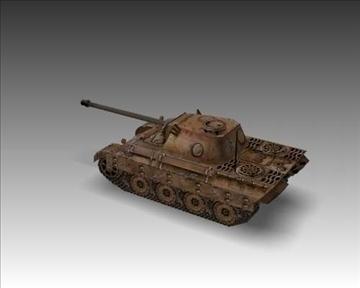 ww2 pz v panther sdkfz 171 ausf. d 3d model 3ds max x lwo ma mb obj 100917
