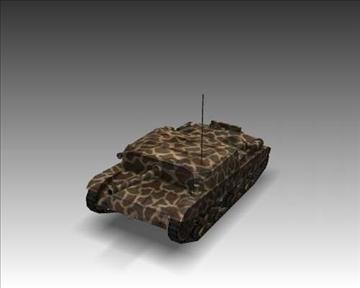 ww2 semovente 105 25 italian tank destroyer. 3d model 3ds max x lwo ma mb obj 101622