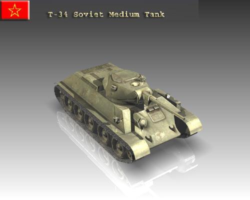 ww2 tanc soiaidd t 34 model 3d 3ds max x lwo ma mb obj 111150
