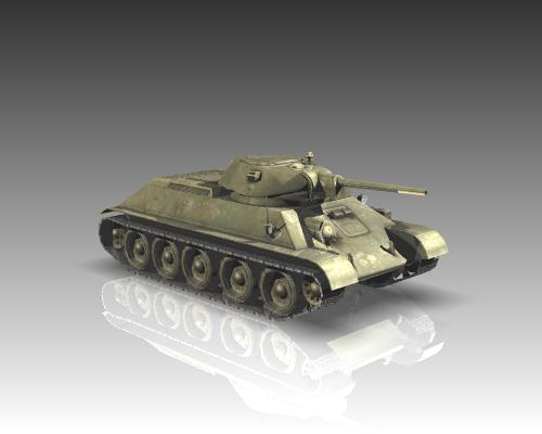 ww2 soviet tank t 34 3d model 3ds max x lwo ma mb obj 111154