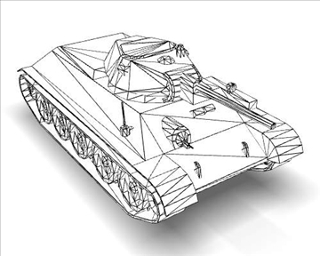 ww2 soviet tank t 34 3d model 3ds max x lwo ma mb obj 111155