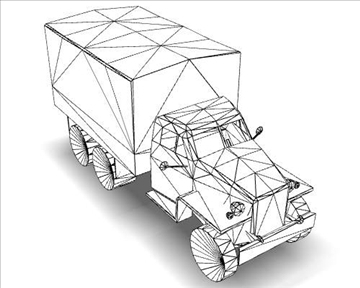 ww2 studebaker track 3d model 3ds max x lwo ma mb obj 111149