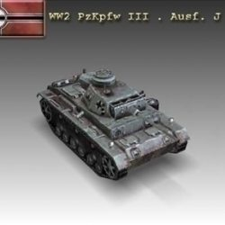 WW2 PzKpfw III . Ausf. J ( 42.47KB jpg by WW2Model )