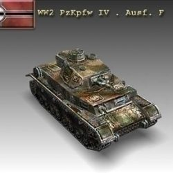 WW2 PzKpfw IV . Ausf. F ( 52.39KB jpg by WW2Model )