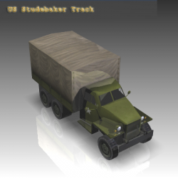 WW2 Studebaker Track ( 112.68KB png by WarArt )
