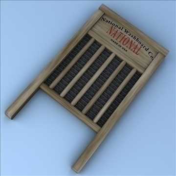 washboard 3d model 3ds max fbx lwo hrc xsi obj 100384