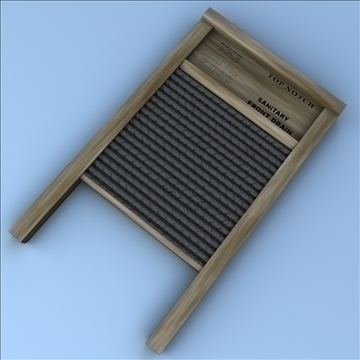 washboard 3d model 3ds max fbx lwo hrc xsi obj 100388