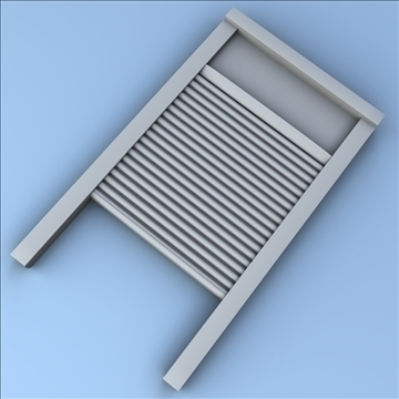 washboard 3d model 3ds max fbx lwo hrc xsi obj 100389