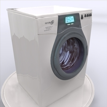 washing machine 3d model 3ds max obj 85401