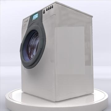 washing machine 3d model 3ds max obj 85402