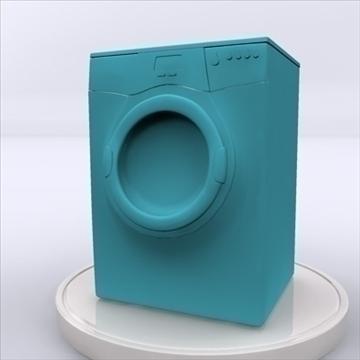 washing machine 3d model 3ds max obj 85403