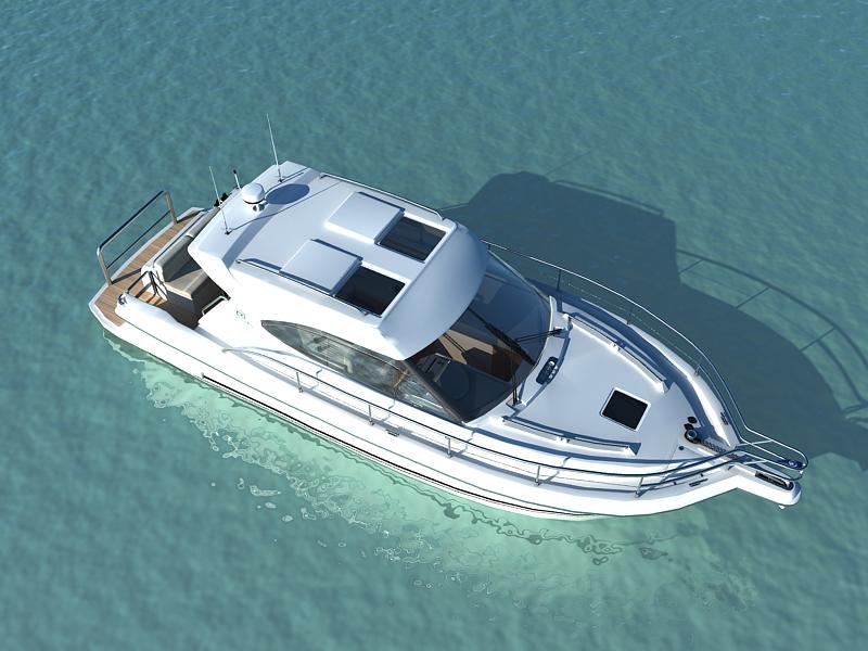 riviera 3600 sport yacht 3d model max 159751