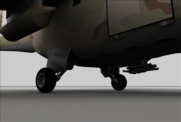 hind 24 soviet military helicopter 3d model 3ds c4d texture 109298