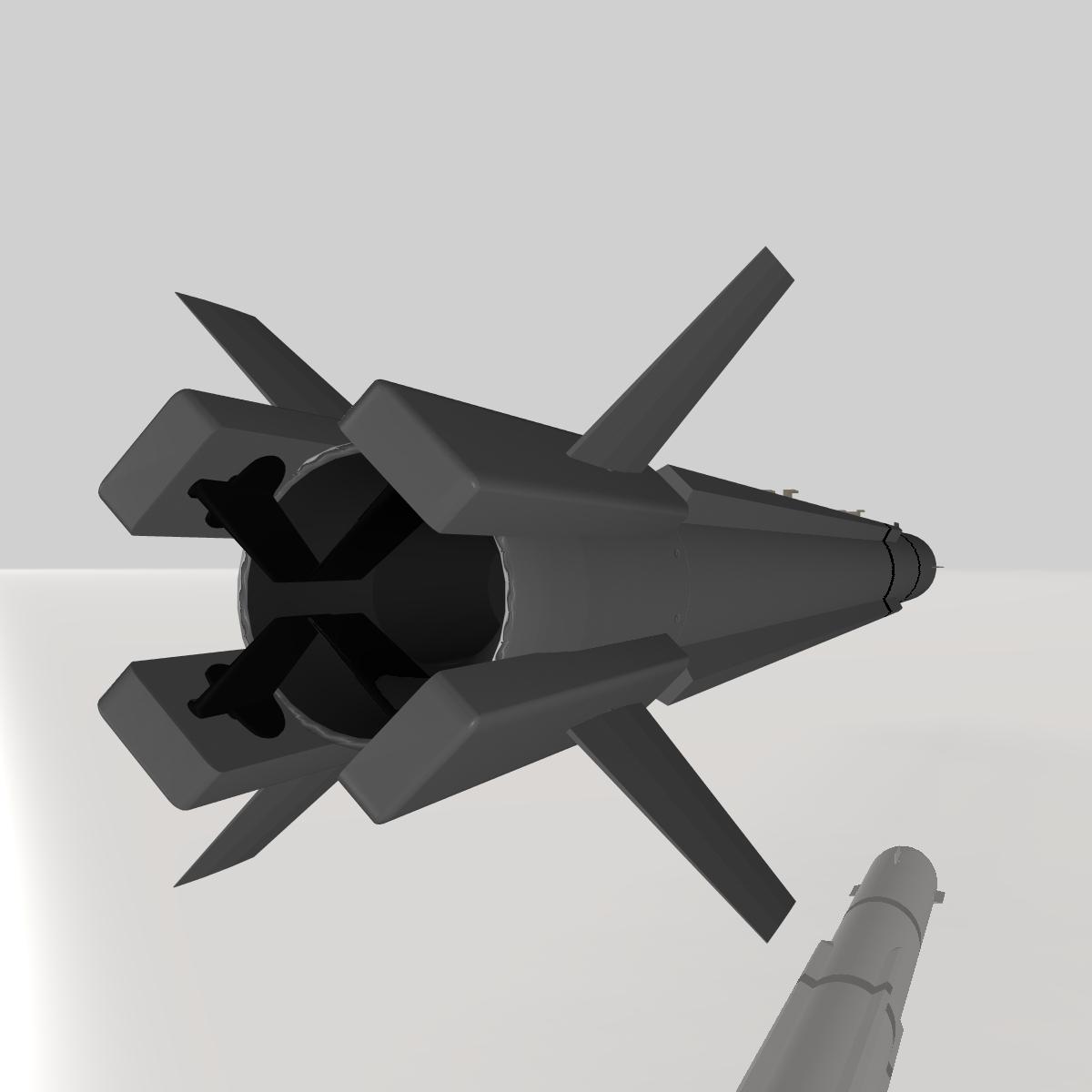 a-darter havadan havaya mərmi 3d modeli 3ds dxf cob x obj 151882