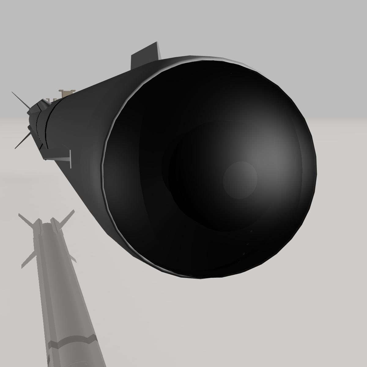 a-darter havadan havaya mərmi 3d modeli 3ds dxf cob x obj 151885