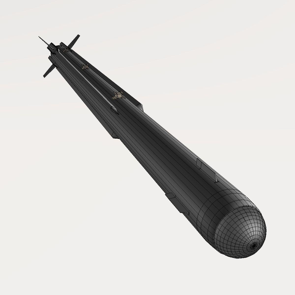 a-darter havadan havaya mərmi 3d modeli 3ds dxf cob x obj 151891
