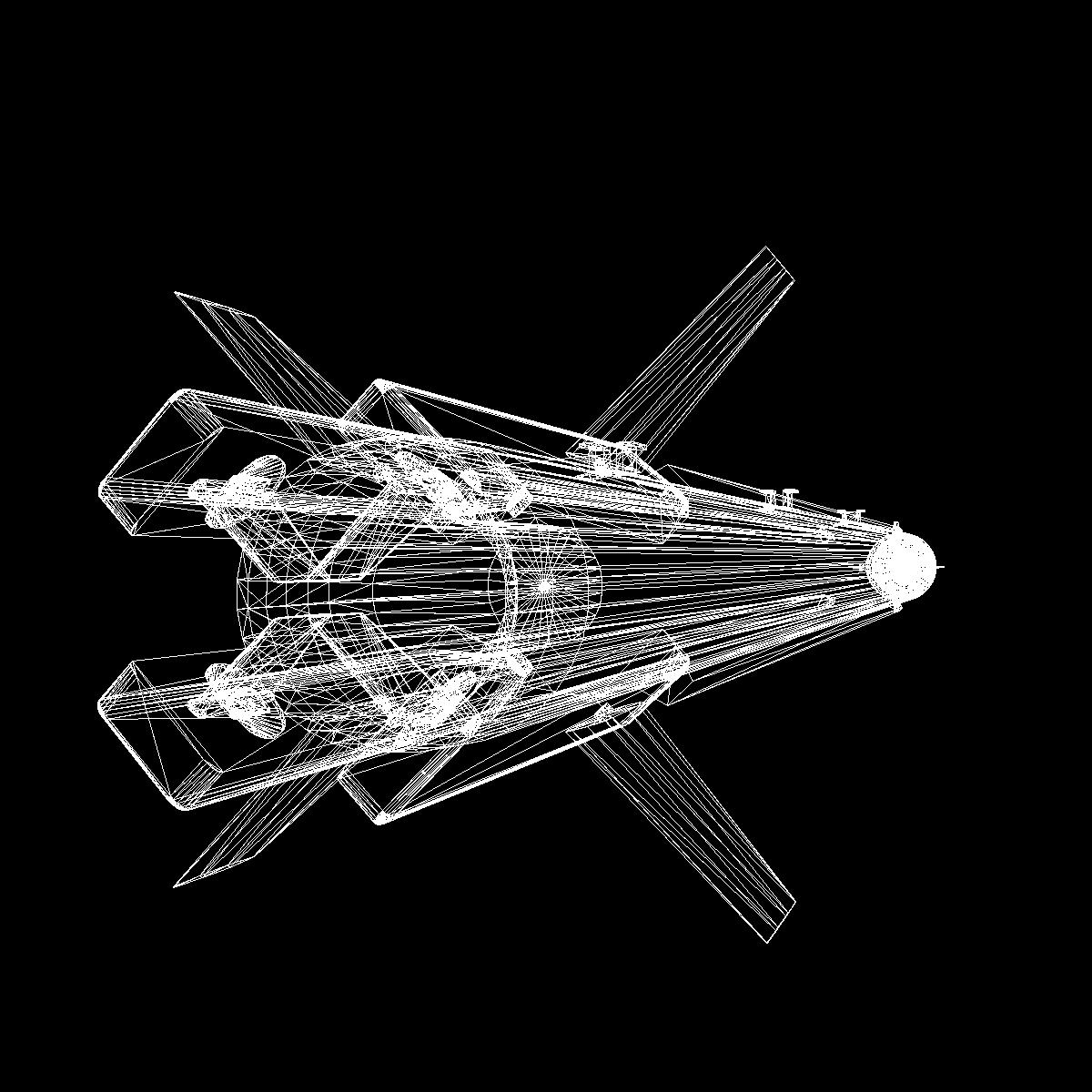 a-darter havadan havaya mərmi 3d modeli 3ds dxf cob x obj 151896